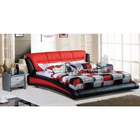 Quality 8123 fashion leather water bed wholesale