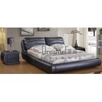 Quality 8126 fashion leather water bed wholesale