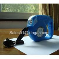 China Auto Retractable Blue Dog Leash Cord String on sale