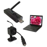 Wireless 2.4G USB DVR Receiver + Spy Camera Set Recording AV in Hard Disk, Max.