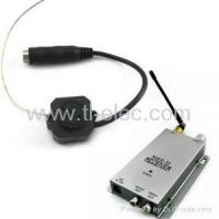 Buy cheap Wireless 1.2G Pin Spy Color Camera Set with Audio +Video from wholesalers