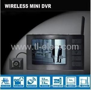 Cheap 8 Channel Motion Detection DVR DV01 + 8 Channel 2.4GHz Wireless Camera CM200 for sale
