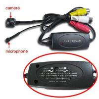 Combo Wireless 2.4GHz +Wired Spy Camera 4 Wireless Channel Switching