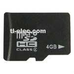 Cheap High speed Micro SD(TF) Memory Card 4GB for sale