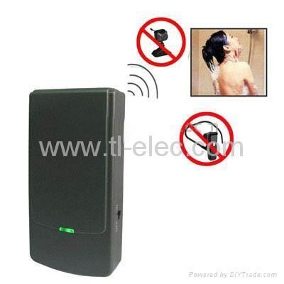 Cheap Portable Wireless Spy Camera & Bluetooth Signal Jammer for sale