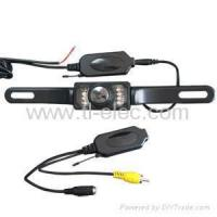 Buy cheap Wireless Car RearView Reversing Color Camera Kit with Night Vision and Wide View from wholesalers
