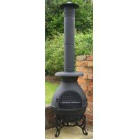 Quality The Pasadena Pot Belly Chiminea Black wholesale