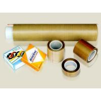 Quality PTFE coated fiberglass tape/fabric with silicone adhesive wholesale