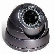 China VS-398. Vandal-resistant IR Dome Camera with External Varifocal Lens and 600TVL Resolution on sale