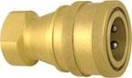 Cheap HYDRAULIC QUICK COUPLING (BRASS) ISO-7241-B, POPPET VALVE for sale