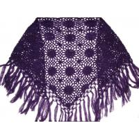 China hand knitted shawl on sale