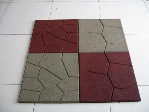 Cheap Rubber Tiles Or Pavers Of Outdoorrubber