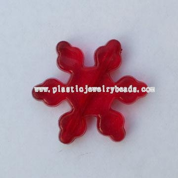 Cheap Flower Acrylic Beads Decoration Trimming Ac058 Of