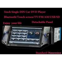 Quality Single Din DVD player/Bluetooth/IPOD/USB/SD/TV/FM wholesale