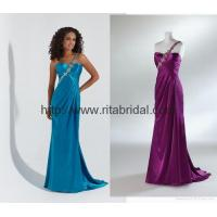 Quality middle east style green color beading prom gown P-42 wholesale