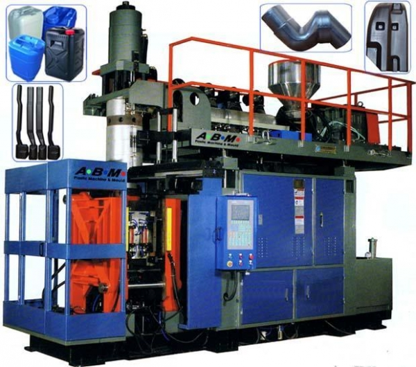 Cheap B75 Model automatic large extrusion blow molding machine --- for sale