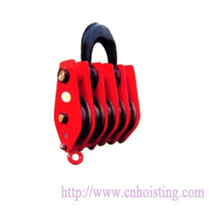 China Five wheels pulley