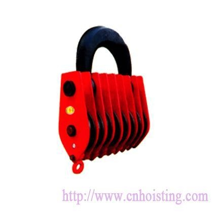 China Eight wheels pulley
