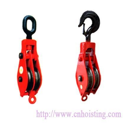 China Double wheels pulley