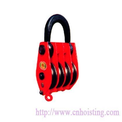 China Four wheels pulley