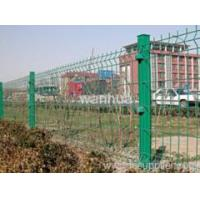 Buy cheap welded wire mesh Triangle Bending Protection Fence from wholesalers