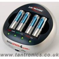 Quality Ansmann Digispeed 4 ULTRA Plus - With 4 x 2850mAh Batteries (Ref: chg-ans-ds4up) wholesale