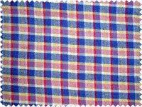 China Woolens series cotton viscose wool color weaving check flannelet on sale