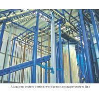 Quality Spray-coating Equi... Aluminum section vertical wood grain coating production line wholesale