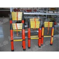 Buy cheap Telescopic insulation extension ladder  FRP ladder insulated ladder  insulation ladder  isolated l product