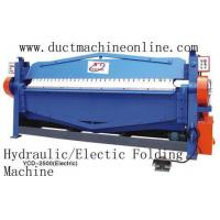 Buy cheap Hydraulic Electic Folding Machine product