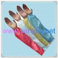 China Disposable Gloves Shoe Cover PE Sleeve Cover on sale