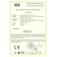ProductsBY-R606N certificate