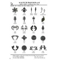 Buy cheap Offer Wrought Iron Weldable Cast Steel Flower and Leaaves product