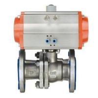 China >> Products >> Pneumatic Ball Valve  >> Pneumatic Flange Type Ball Valve on sale