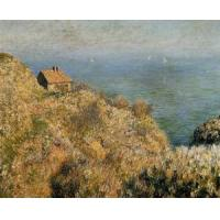 Quality Impressionist(3830) The_Fisherman-s_House_at_Varengeville wholesale