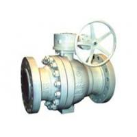 China Metal to metal sealed trunnion ball valve on sale