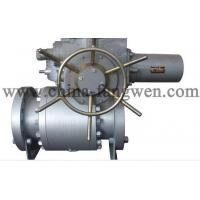 Quality Electric actuator operated ball valve wholesale
