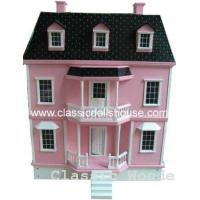 Quality Pink Victorian Dolls House wholesale