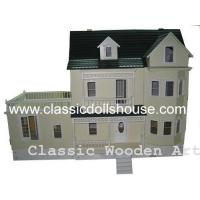 Quality Yellow Victorian Dolls House wholesale