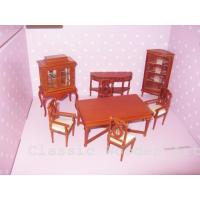 Dollhouse miniature dining Room furniture