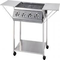 China BBQ Grills-Gas 4-Burner Stainless Steel BBQ Gas Grill without Cover on sale