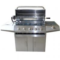 Quality Stainless Steel 5-burners Gas BBQ Grills wholesale