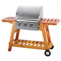 Quality outdoor cookware with wooden stand wholesale