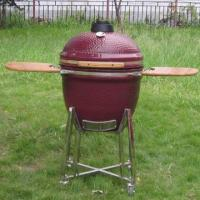 Buy cheap 23 1/2 inch ceramic grill(Red Brown) from wholesalers