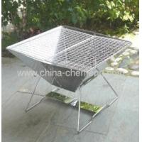 China stainless steel folding barbecue grills on sale