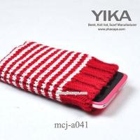 20139492233Knitting cellphone sleeve for promotion