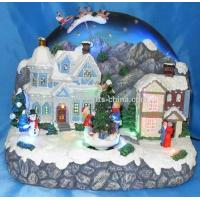 Buy cheap 10 LED Village With Rotation Tree and Moving Sleigh. from wholesalers