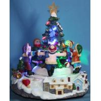 Buy cheap 9 LED Scenery With Rotation Children&7-Color Snow Flashing Top Star from wholesalers