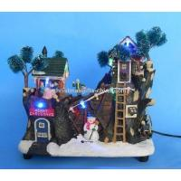 Buy cheap 8LED Tree House W. Moving Children. from wholesalers
