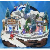 Buy cheap 10LED Village With Rotation Tree and Moving Sleigh. from wholesalers